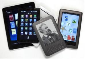 eReader tablet devices