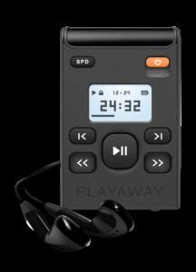 Playaway audiobook device