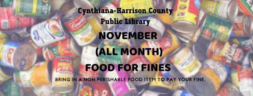 FOOD FOR FINES FB COVER