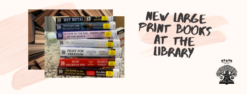 New Large Print Books Website