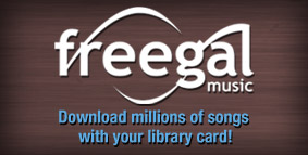 Freegal - download music with your library card