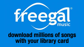 Freegal - download free mp3s with your library card!
