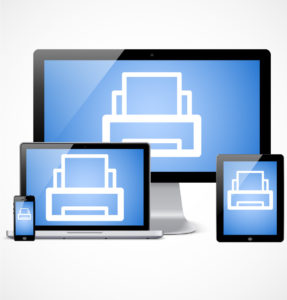 Print from any device at the library