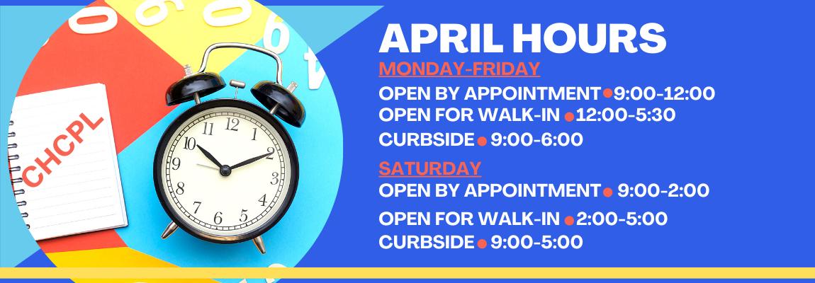 April Hours Website