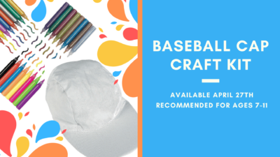 Baseball Cap Craft Kit For Kids