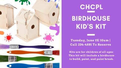 Birdhouse Kid's Kit