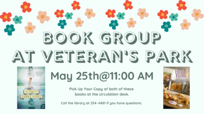 Book Group~Meeting at Flat Run Veterans Park