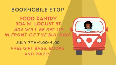 Bookmobile-Food Pantry