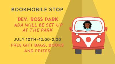 Bookmobile Stop-Rev. Ross Park