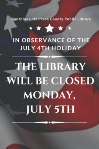 Closed-In Observance of 4th of July
