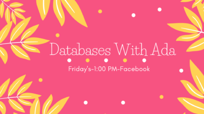 Databases With Ada