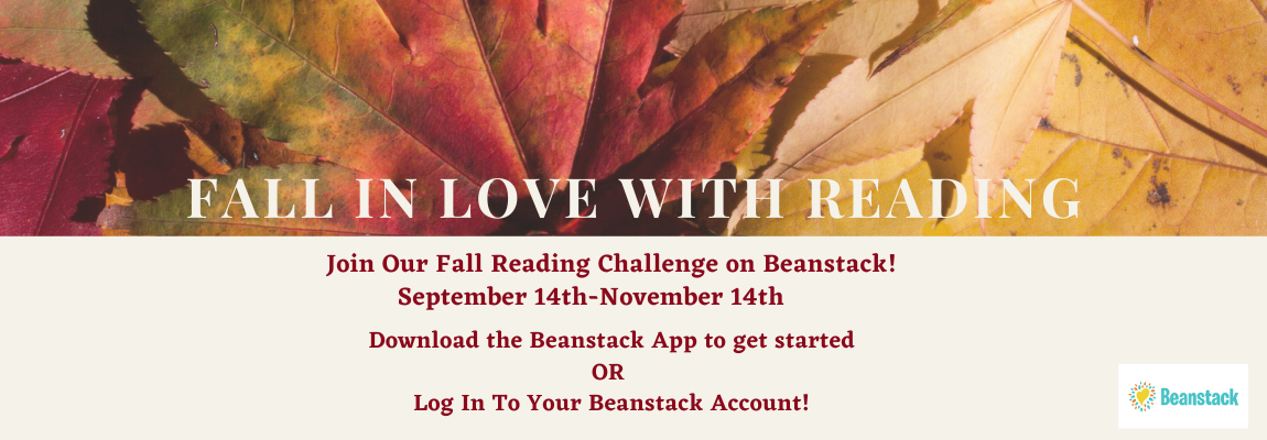 Fall Reading Challenge Website