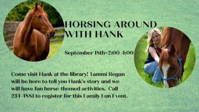 Horsing Around With Hank~Family Program