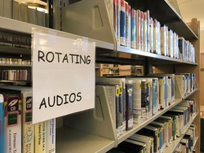Rotating audiobooks