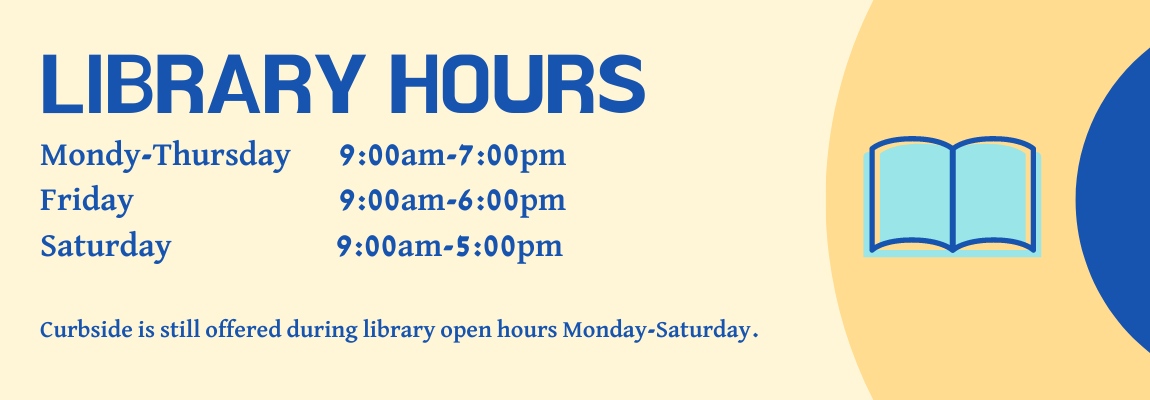 Library hours Website
