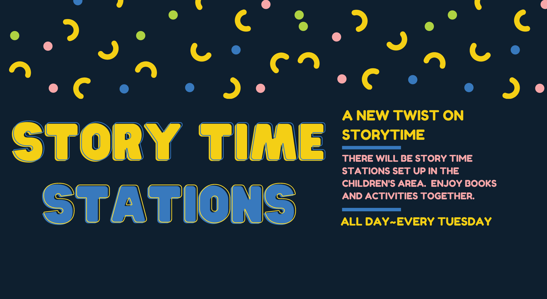 Story Time Stations
