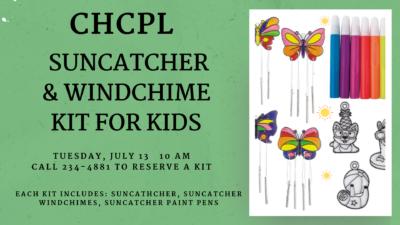 Suncatcher & Windchimes Kit for Kids