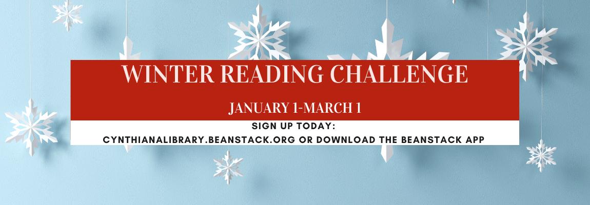 Winter Reading Challenge Website