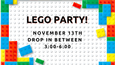 Lego Party! For School Age
