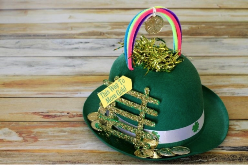 leprechaun hat for St. Patrick's Day event