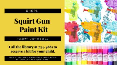 Squirt Gun Paint Kit for Kids